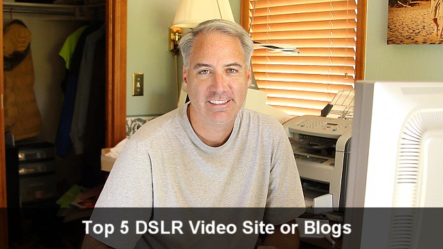 The Top 5 DSLR Video Sites or Blogs Ranked by Traffic