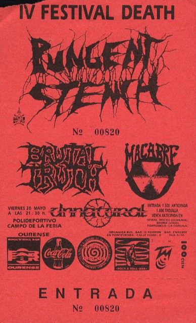 Pungent Stench+Brutal Truth+Macabre+Unnatural