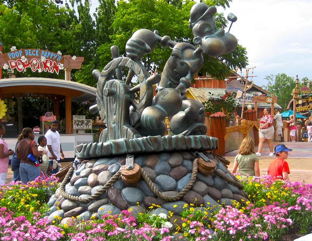 Toontown Flickr Photo Sharing