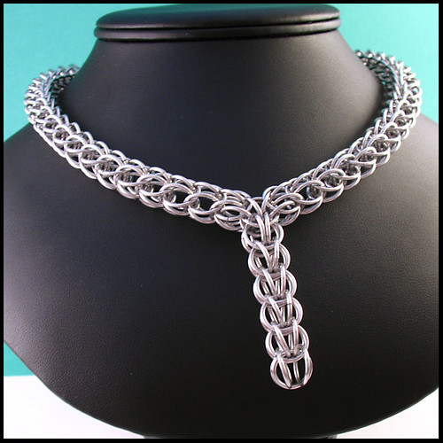 Persian Chainmaille Necklace