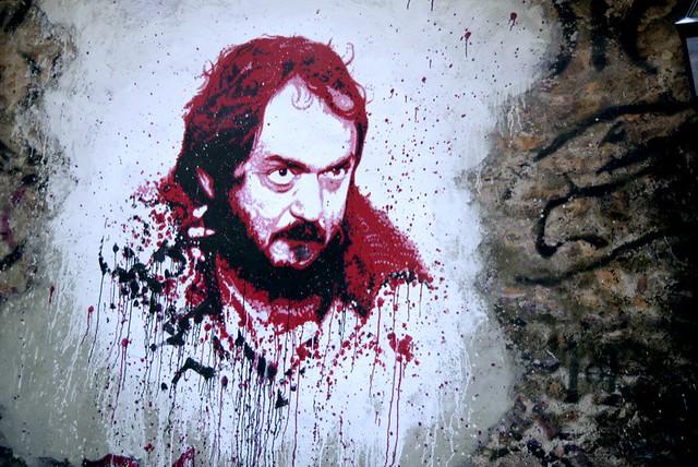 Stanley Kubrick painted portrait DDC_2438.JPG