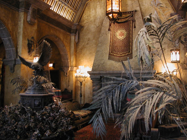 Hotel Lobby, Twilight Zone Tower of Terror, Walt Disney ...Tower Of Terror Inside