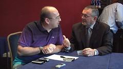 Conor O'Neill and Minister John McGuinness talk Cubic Telecom