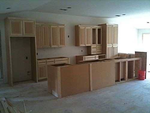 The Flip: Cabinets Go In