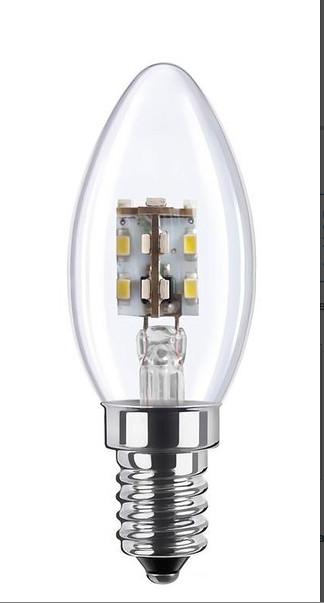 mini candle led light bulb 2w flickr photo sharing. Black Bedroom Furniture Sets. Home Design Ideas