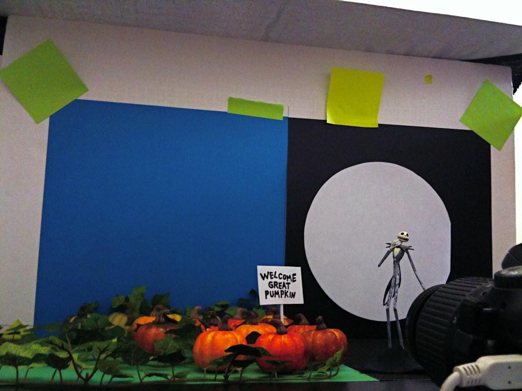 The Great Pumpkin vs. The Pumpkin King Setup