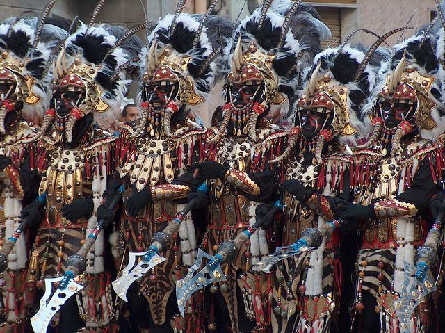 Moros y cristianos. San Blas. 2007. Alicante. España