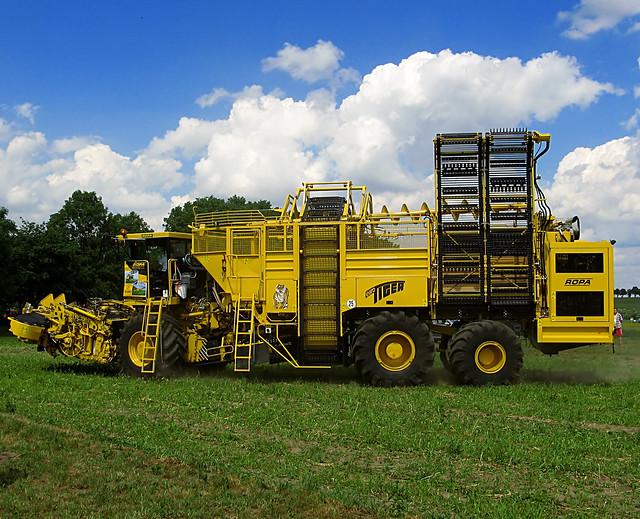 Ropa Sugar Beet Harvesters http://www.flickr.com/photos/desgastar/566554476/