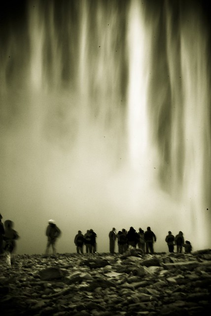 Legend of the waterfall - Skógafoss, Iceland.