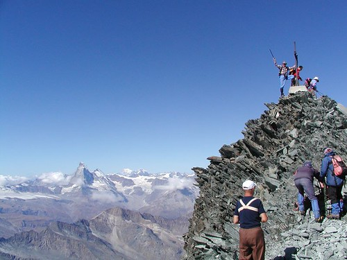 "Matterhorn v dáli - a Pavlovo ""Ahoooooooj!"""