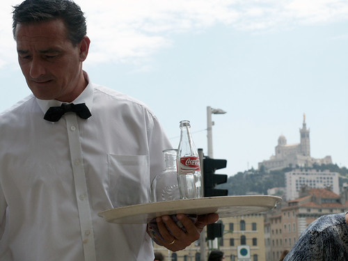 Waiter picture by Flickr user Giorgio Montersino