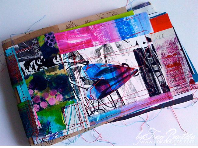 patchwork art quilt cover