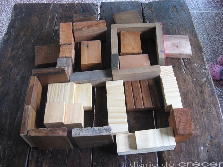 juguetes de madera lo que puede hacer un recorte