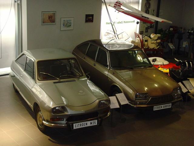 Citroen M35 und GS Birotor