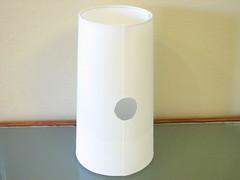 flameless candle(0.0), lamp(0.0), candle(0.0), light fixture(0.0), vase(0.0), ceramic(0.0), lighting(0.0), cylinder(1.0),
