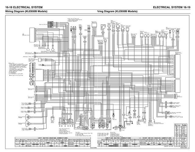 Kawasaki Versys  KLE650      07        Wiring       Diagram      Explore