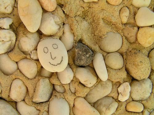 rocks smile too