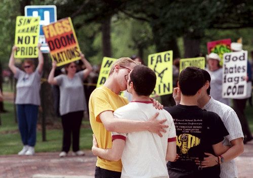 Gay protests assemblies of god