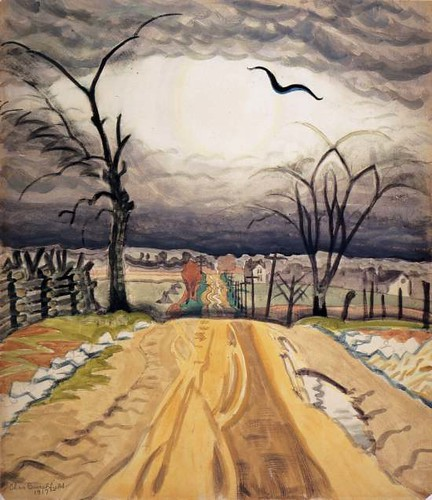 Charles Burchfield, The Mysterious Bird