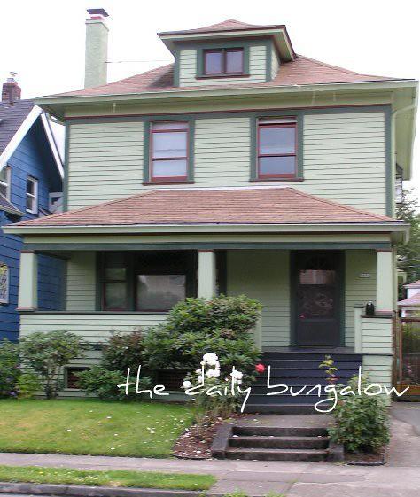 American Foursquare Style Home - Portland, OR