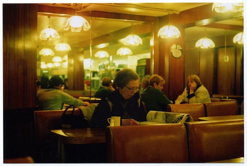 Woman In A Cafe