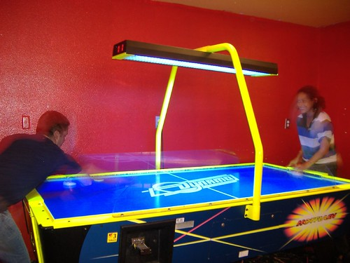 Air hockey times 2
