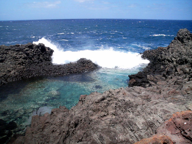 Pantelleria: Laghetto delle Ondine