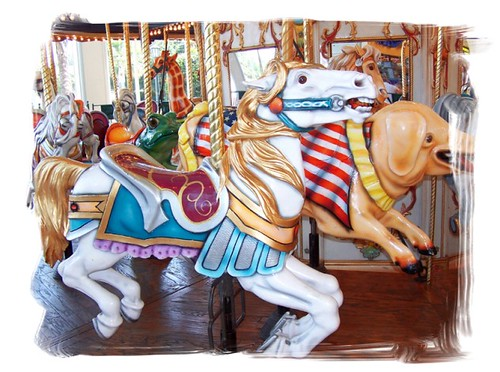 carousel at the mall