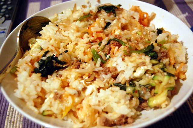 Bibimbap at Home Mixed | Flickr - Photo Sharing!