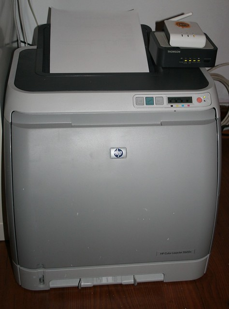 hp color laserjet 2600n flickr photo sharing. Black Bedroom Furniture Sets. Home Design Ideas