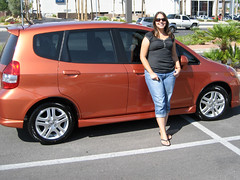 automobile, automotive exterior, wheel, vehicle, honda, city car, compact car, honda fit, land vehicle,