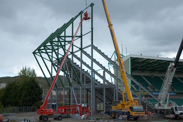 East Stand Construction 008