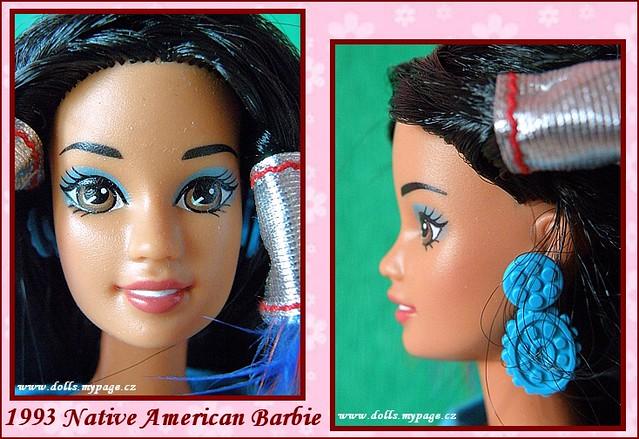 1993 Native American Barbie