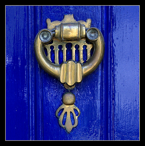 Cambridge knockers: Can you see a face?