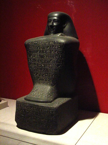 Block Statue of Sennefer