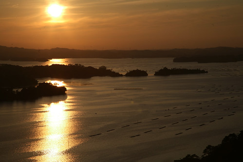 Matsushima Bay from Otakamori - 無料写真検索fotoq