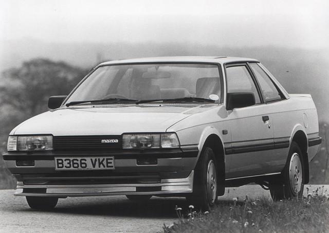 1984 Mazda 626 2.0 Hatchback (with accessories) by Spottedlaurel