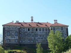 Mansion that Overlooks Village of Nelahozeves