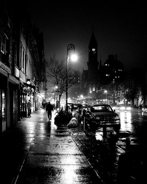 Rainy Night in the City   Flickr - Photo Sharing!