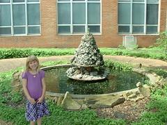 Brianna by the Fountain