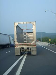 very empty truck