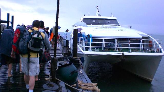 Catamaran til Koh Tao