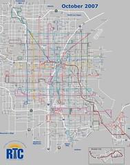 Las Vegas Bus Routes 2007
