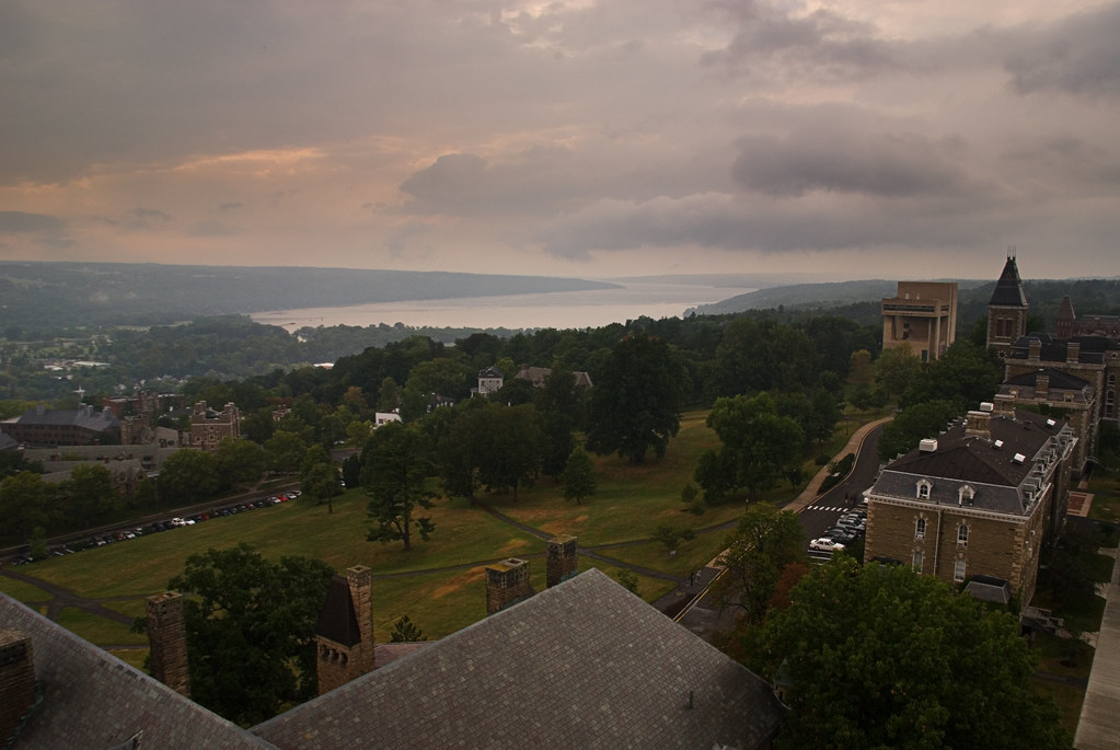 View from the Cornell Chimes