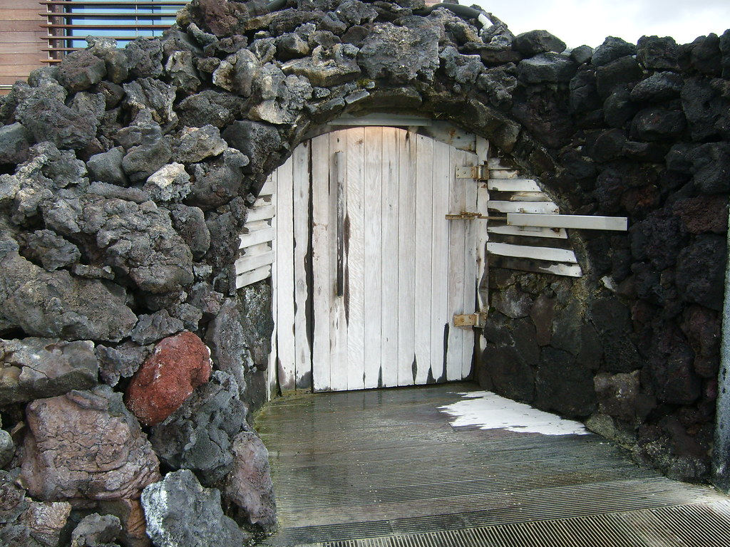 Sauna at Blue Lagoon