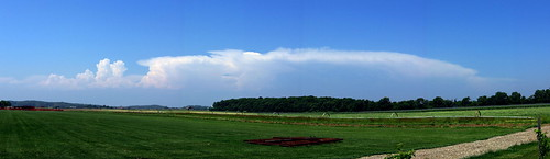 panorama field geotagged farm panoramic cumulus thunderstorm northfork anvil riverhead photostitch thunderhead billowing thundercloud