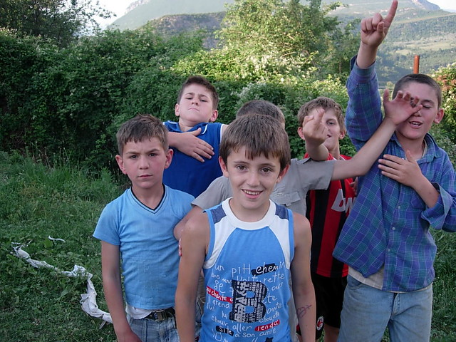 Local Albanian Children that the Go Team Ministered To ...