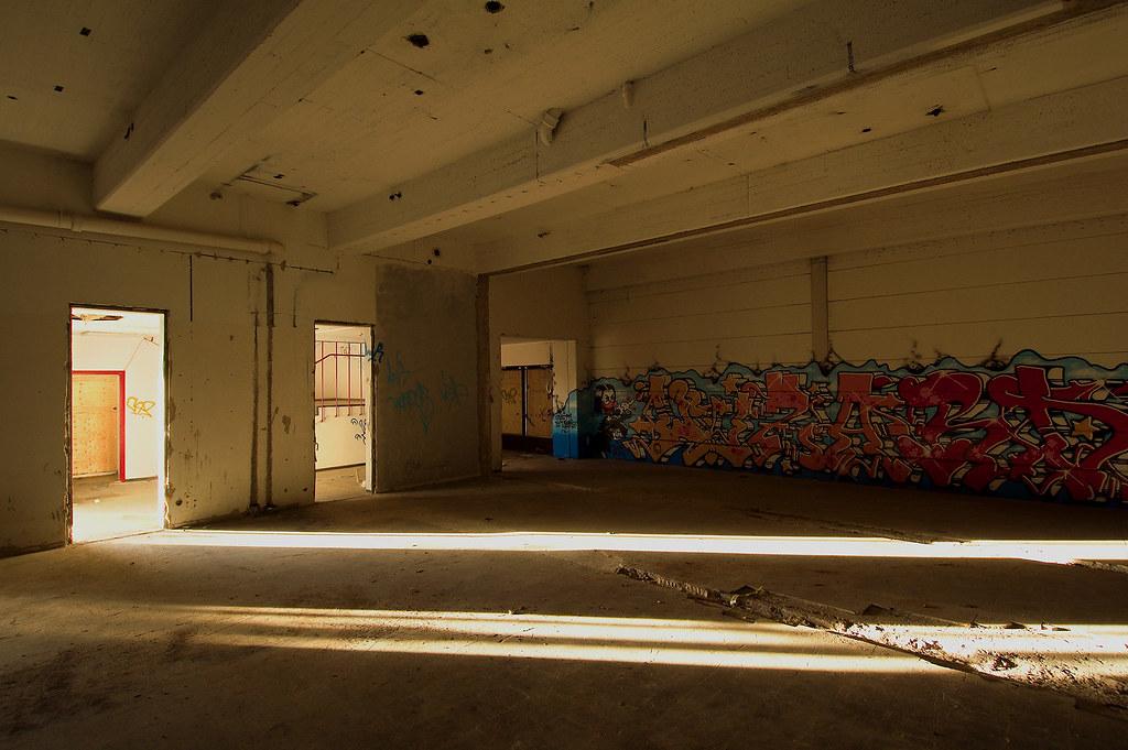 storage hall side area