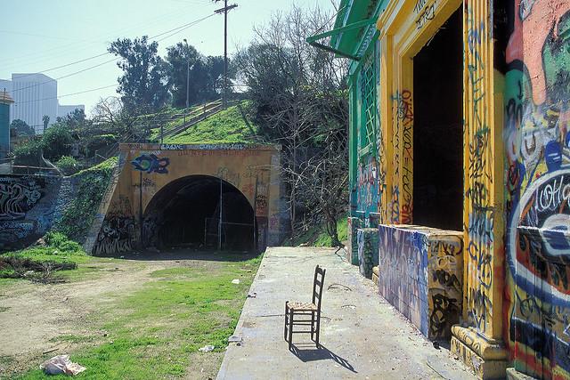 belmont tunnel. los angeles, ca. 2000.