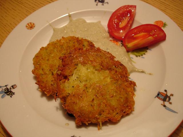 steirische kartoffel-puffer